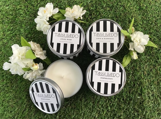 Image of Special Offer: Set of Four Travel Candles for £30.00