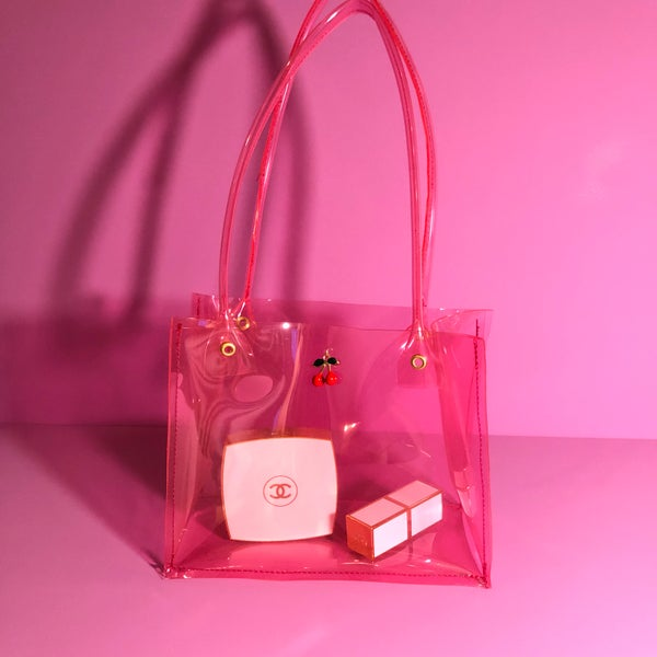 Image of mini pvc bag 🍒cherry🍒