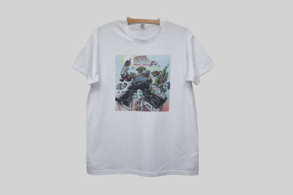 Image of CrabbMan: Original Methods (T-Shirt) White