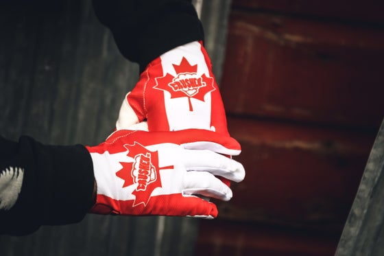 Image of Pre Order Canada Flag Glove Ships the 4th week of November