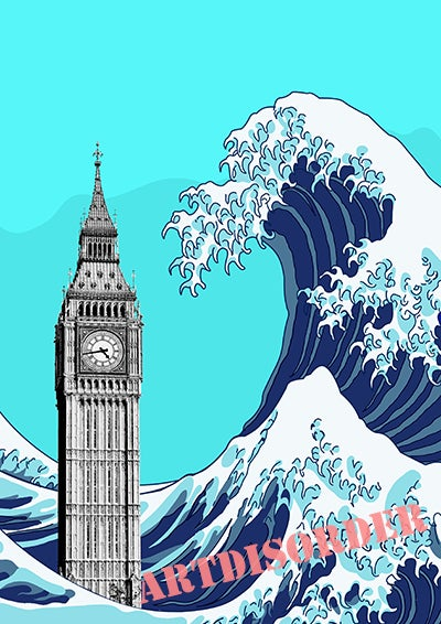 Image of Global Warning ( Big Ben )