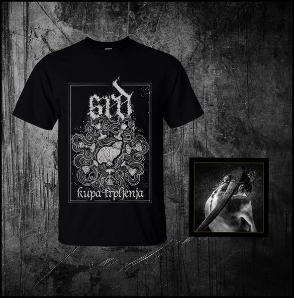 "Image of SRD ""Smrti Sel"" DIGIPAK + T-SHIRT BUNDLE"