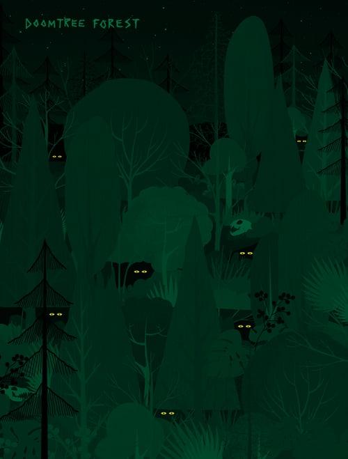 Image of Doomtree Forest Crewneck Sweatshirt