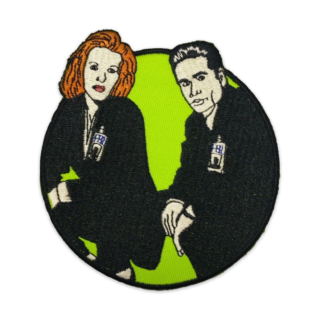 Image of Mulder & Scully patch