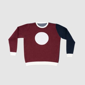 DROP Pullover - bordeaux