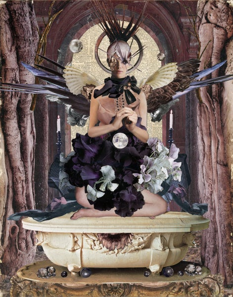 "Image of ORIGINAL COLLAGE ""Sacred"""
