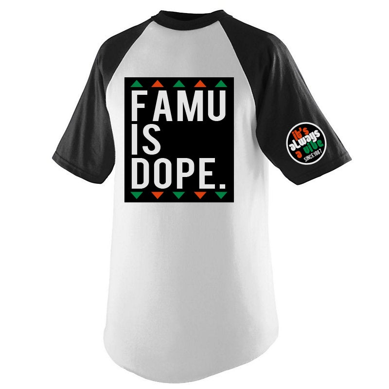 Image of FAMU IS DOPE 2.0 X MOTEEF BLACK