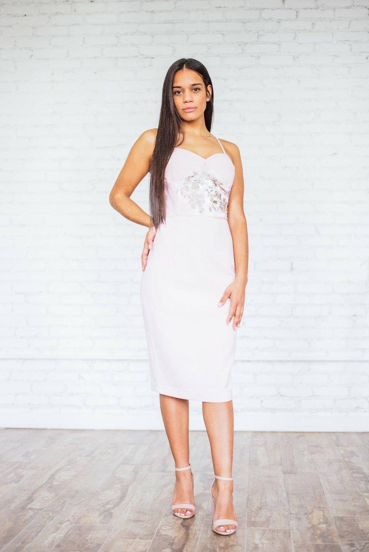 Image of 'Anifora' Bustier Dress