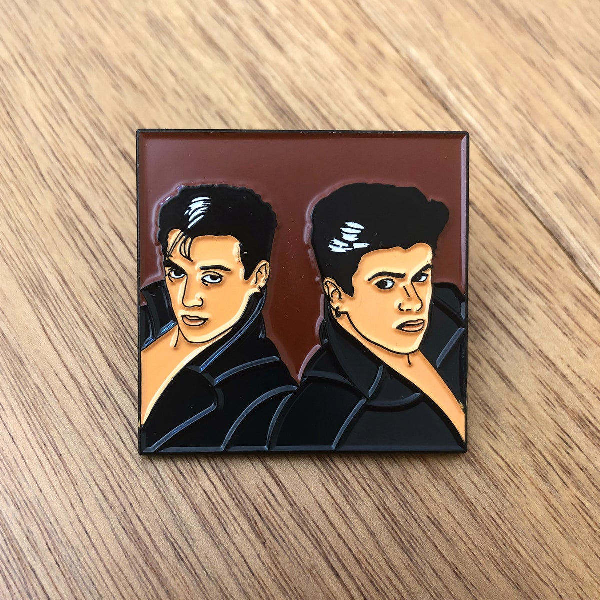 "Image of Wham!, ""Fantastic"" pin"