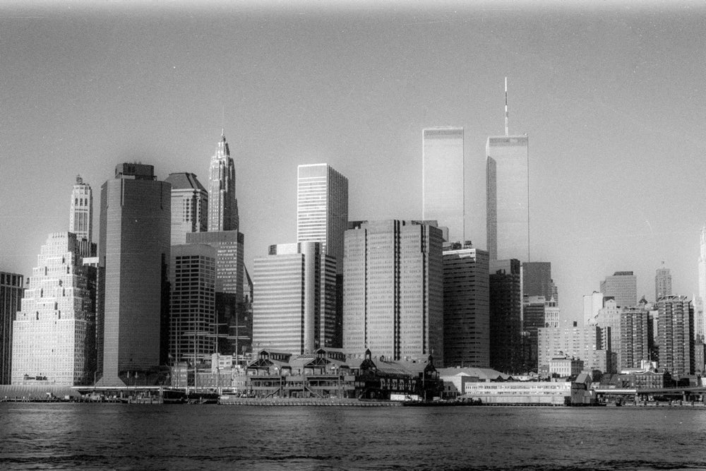 Image of Twin Towers 2001