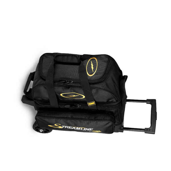 Image of Storm 2 Ball Streamline Roller Bowling Bag Black