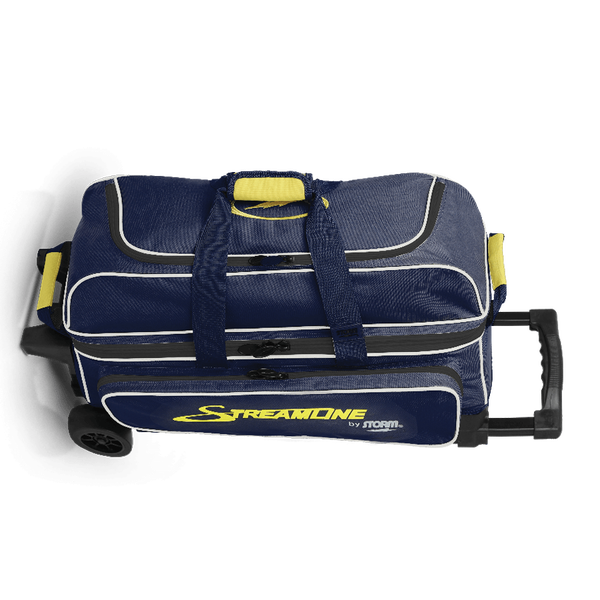 Image of Storm 3-Ball Streamline Roller Bowling Bag Blue