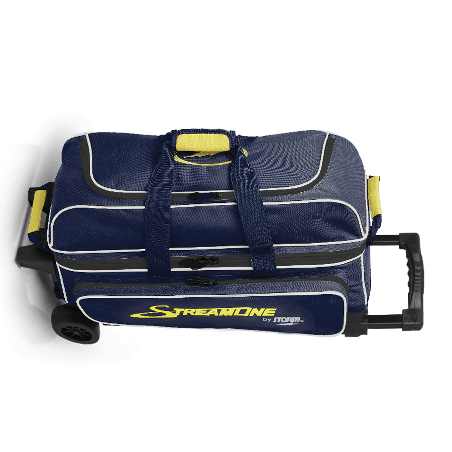 Image of Storm 3-Ball Streamline Roller Bowling Bag Blue