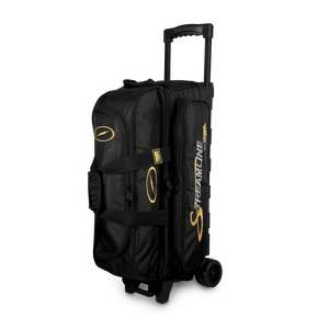 Image of Storm 3-Ball Streamline Roller Bowling Bag Black