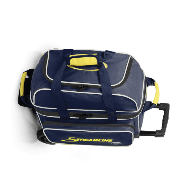 Image of Storm 2 Ball Streamline Roller Bowling Bag Blue