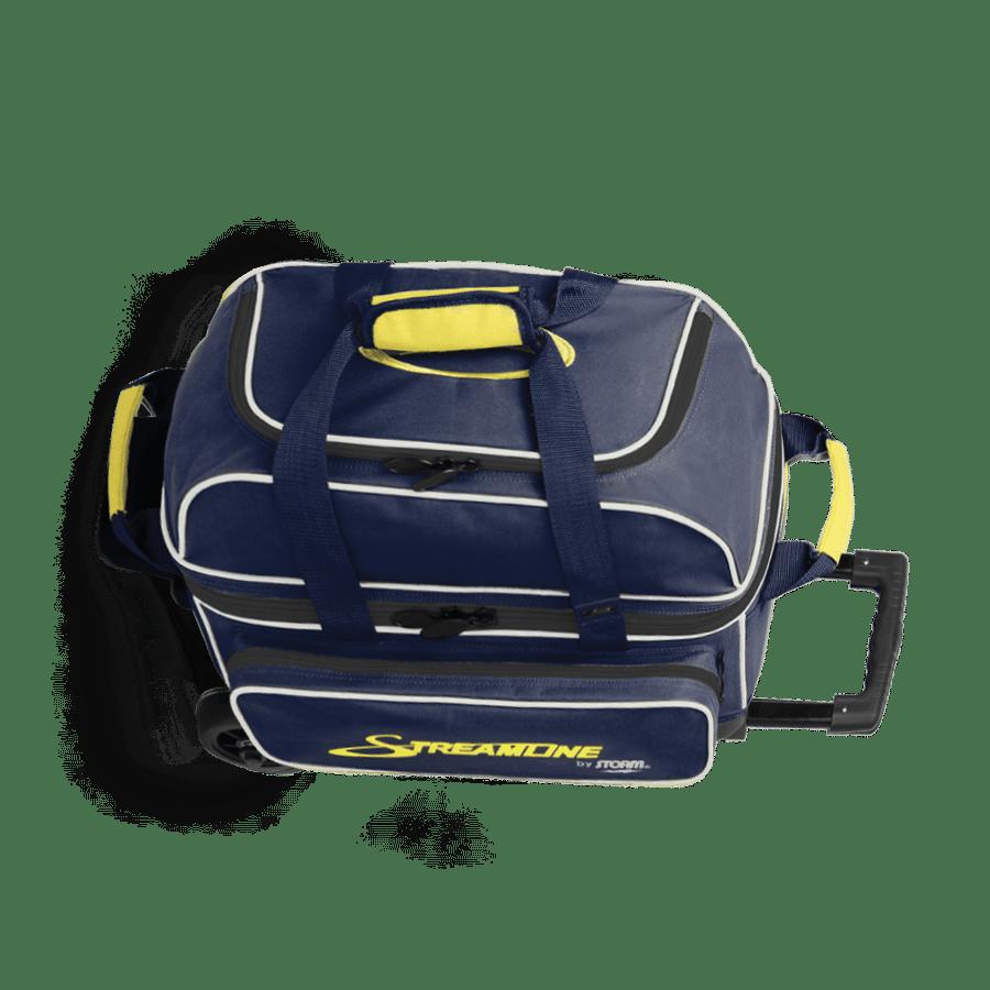 Image of Storm 2 Ball Streamline Roller Bowling Bag Blue