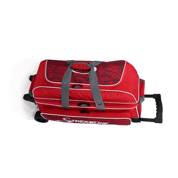 Image of Storm 3 Ball Streamline Roller Bag Red