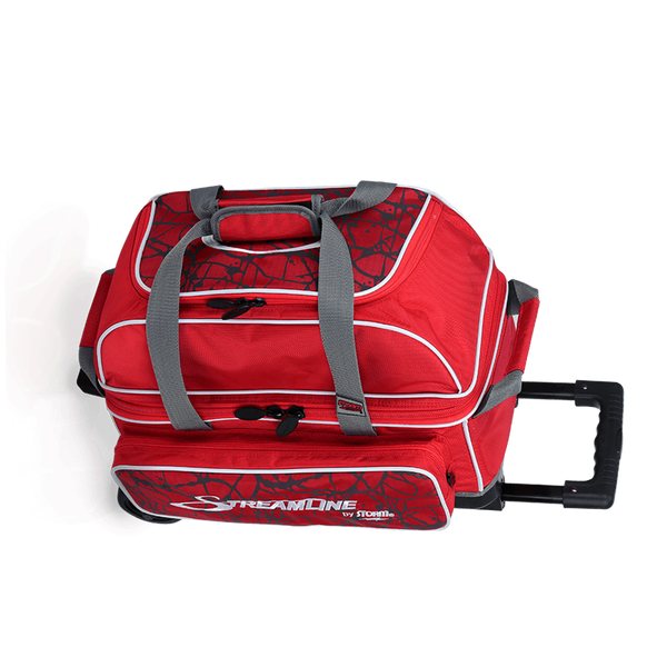 Image of Storm 2 Ball Streamline Roller Bowling Bag Red