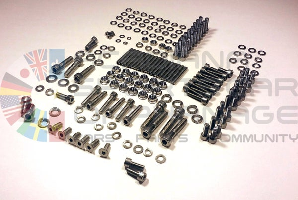 Image of Stainless Steel Engine Fastener Kit - 1984-89 Nissan 300ZX & Turbo