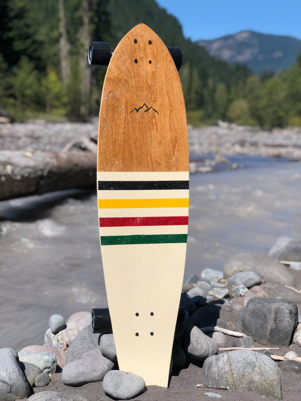 "Image of 40"" Glacier National Park Mountain Kicktail"