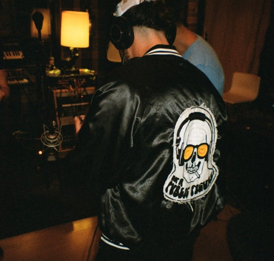 Image of Satin Vintage Tour Jacket Not A Public Figure