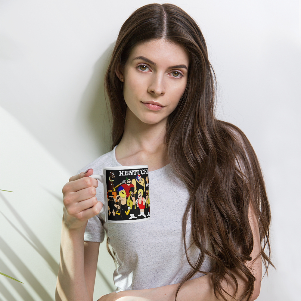 Image of Hannah+Barbarian All-Stars Coffee Cup (11 oz or 15 oz)