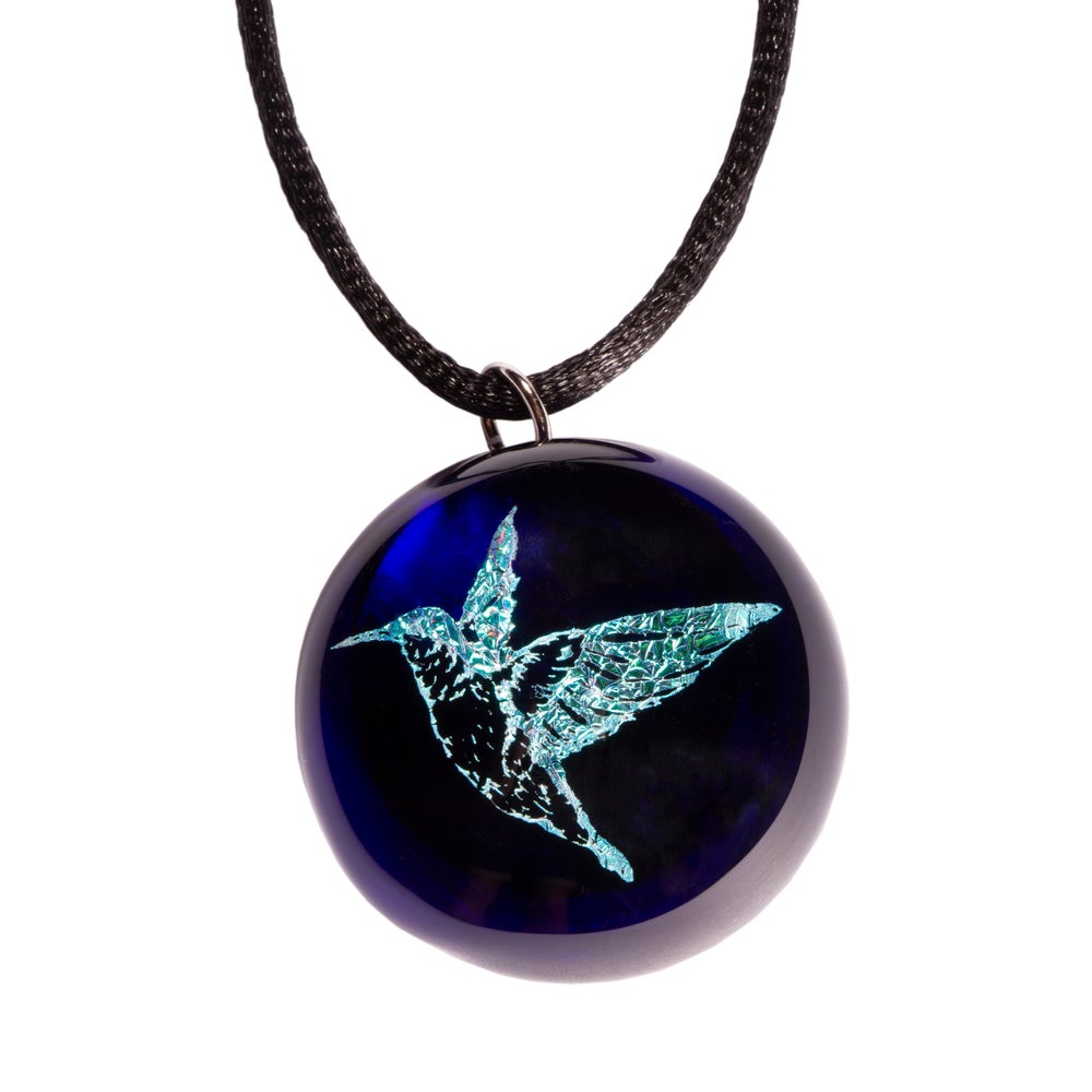 Image of ANIMAL TOTEM PENDANT: HUMMINGBIRD