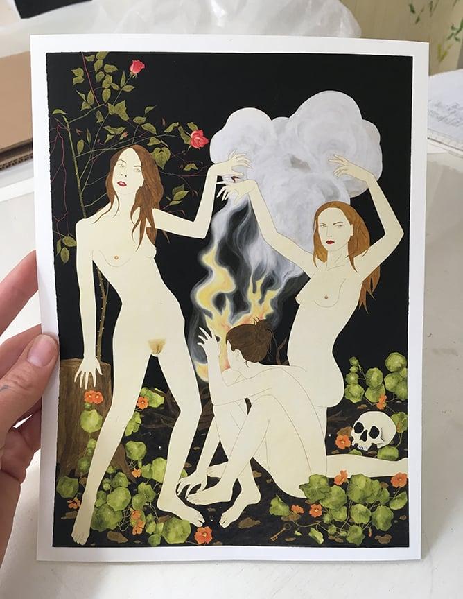 Image of Necromancers Print