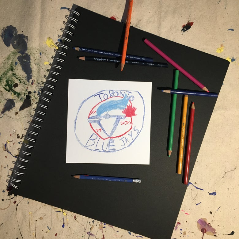 Image of Blue Jays Print