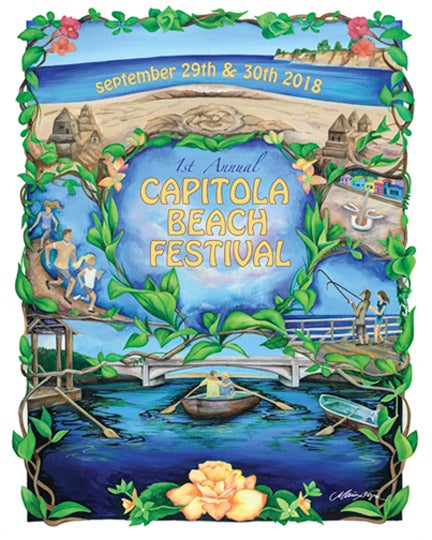 Image of Capitola Beach Festival Poster