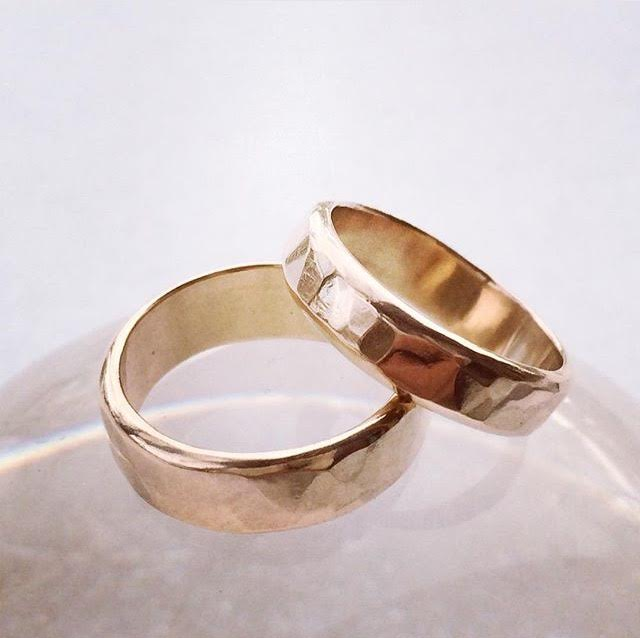 Image of Wedding rings for Jen and Chris