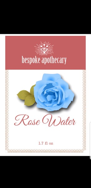 Image of 2 oz PREMIUM Rose Water Astringent - Herbal Face Toner