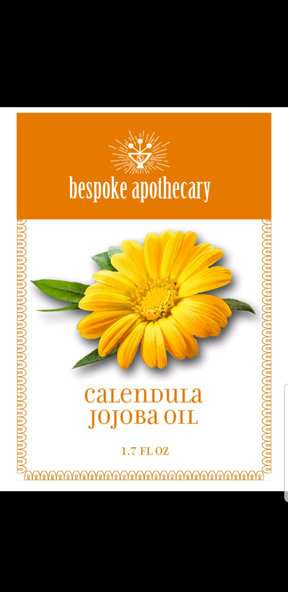 2 oz. DDF-grown Organic Calendula with Jojoba oil