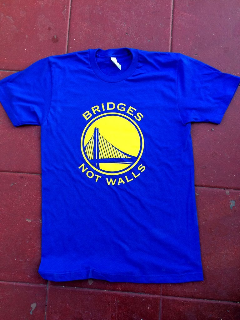 Image of Bridges Not Walls Tshirt
