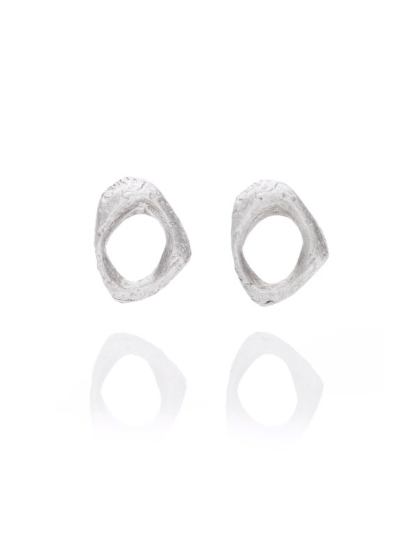 Image of Texture stud earrings