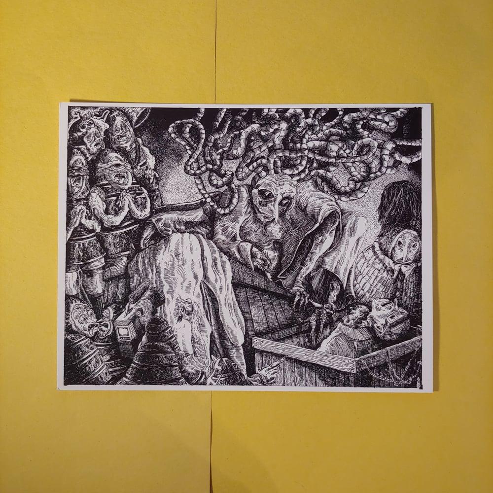 Image of The Eggmen's Court (Print)