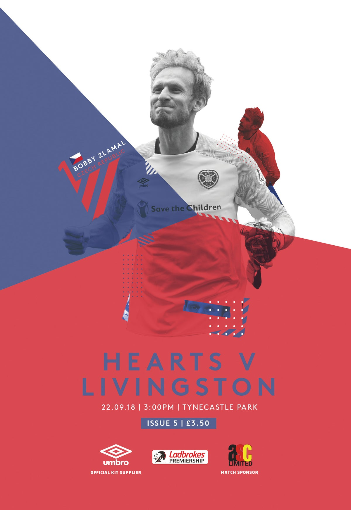 Image of Hearts v Livingston, 22nd September 2018