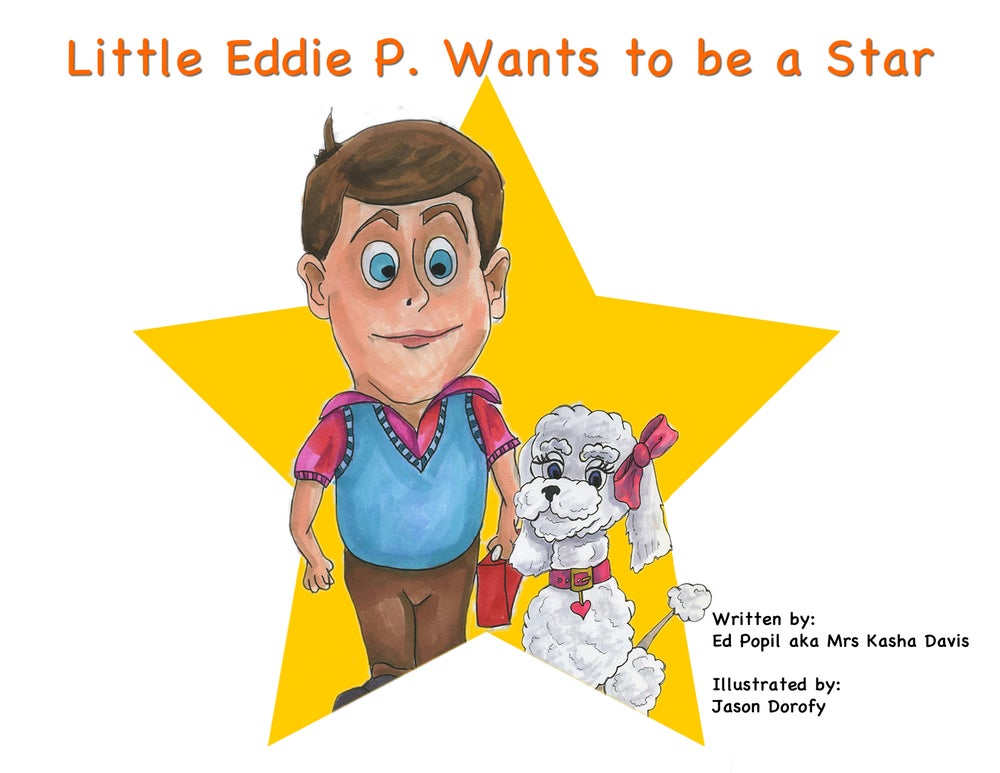 "Image of Children Book - ""Little Eddie P. Wants to be a Star"""