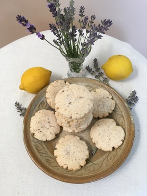 Image of Lemon Lavender Cookies - TWO DOZEN