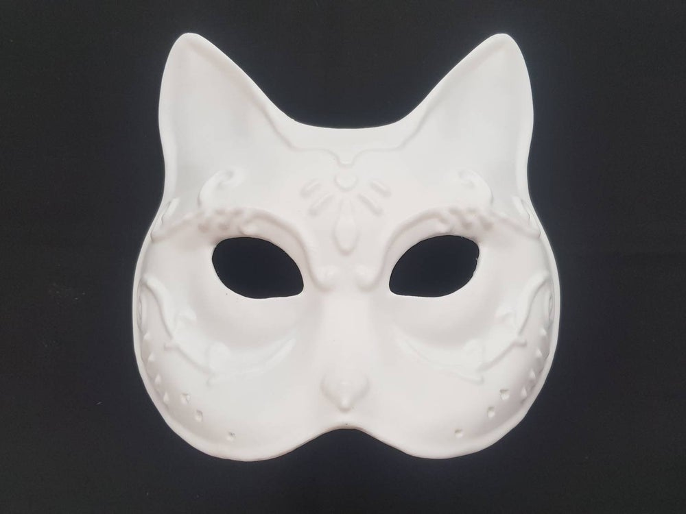 Image of Bioshock Splicer Cat mask, DIY resin kit for cosplay prop masquerade halloween fancy dress