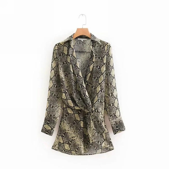 Image of Milly Snake Blouse