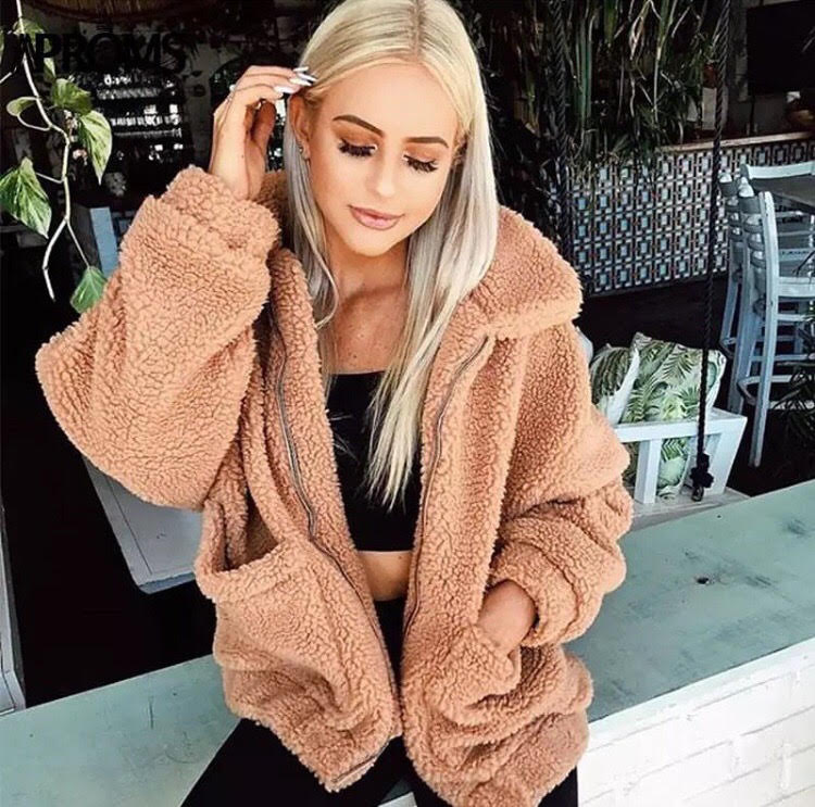 Image of Lexi Teddy Coat