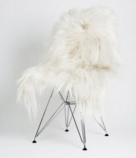Image of WHITE SHANSI SHEEPSKIN