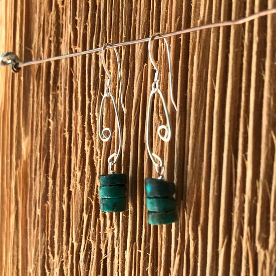 Image of Fish Lure Inspired- Turquoise