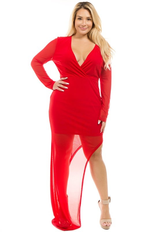 Image of Red apple plus size