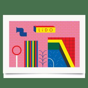 Image of Lido print