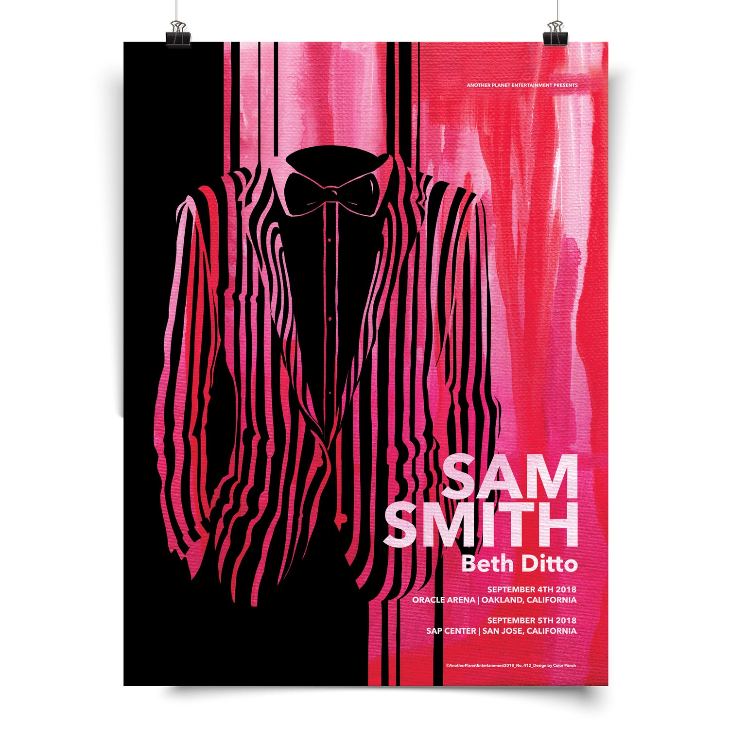 Image of Sam Smith Poster