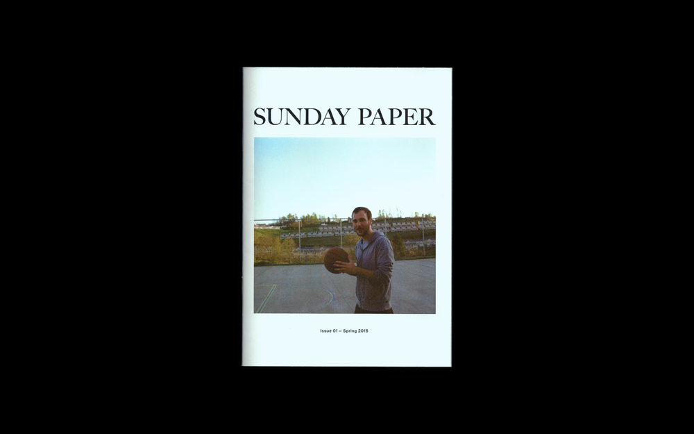 Image of Sunday Paper Issue 01