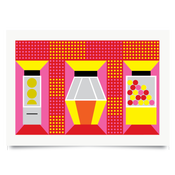 Image of Arcade print