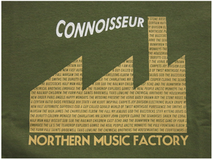 Image of 'NORTHERN MUSIC FACTORY' [ARMY GREEN AND SAND]